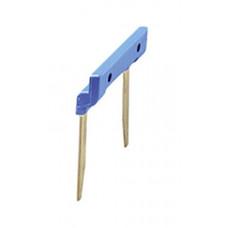 2-полюсный шинный соединитель 15,8мм для розеток Push-in серии 48,4C,58