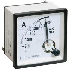 Амперметр Э47 300/5А кл. точн. 1,5 72х72мм