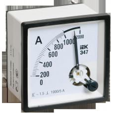Амперметр Э47 600/5А кл. точн. 1,5 96х96мм