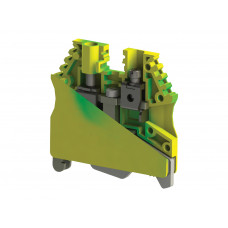 AVK 2,5-4TK; Клеммник на DIN-рейку 2,5 - 4 мм.кв., (земля)
