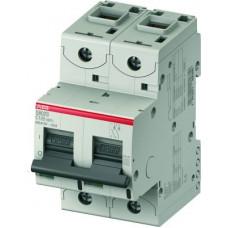 Автоматический выключатель 2 полюс. S802C C125