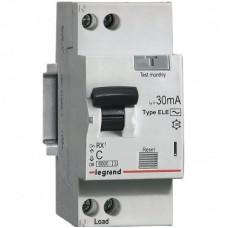 Автоматический выключатель дифференциального тока  АВДТ Rx3 30мA 16А 1П+Н AС