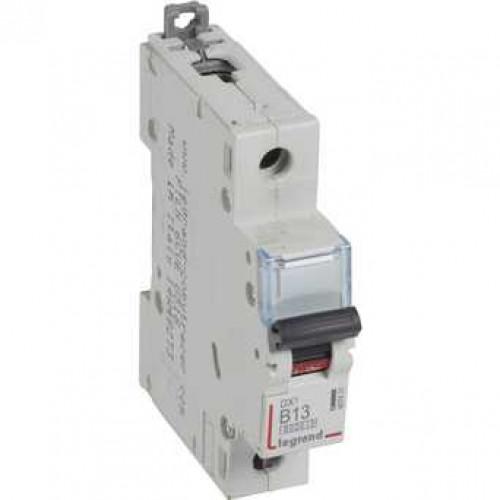 Автоматический выключатель DX3 1П B13A 6000/10kA 407431