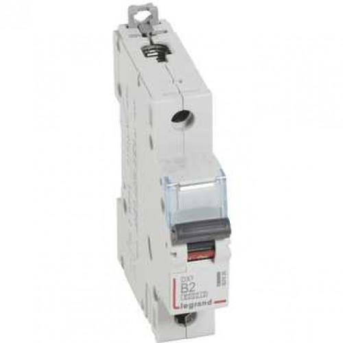 Автоматический выключатель DX3 1П B2A 6000/10kA 407426