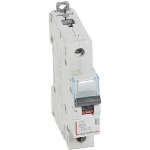 Автоматический выключатель DX3 1П B3A 6000/10kA 407427