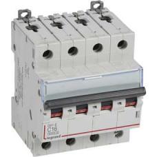 Автоматический выключатель DX3-E C16 4П 6000/6kA