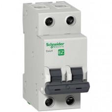Автоматический выключатель EASY 9 2П 16А В 4,5кА 230В =S=