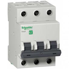 Автоматический выключатель EASY 9 3П 16A B 4,5кА 400В =S=