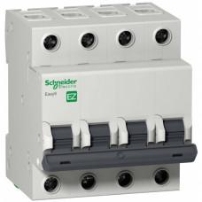 Автоматический выключатель EASY 9 4П 20А B 4,5кА 400В =S=