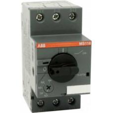 Автоматический выключатель MS116-20 10кА с регулир. тепловой защитой 16A-20А Класс тепл. расцепит. 10