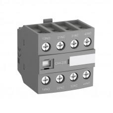 Блок контактный дополнительный CA4-13M (1НО+3НЗ) для контакторов  AF09…AF16..-30-10
