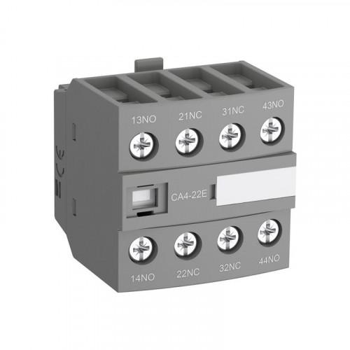 Блок контактный дополнительный CA4-13M (1НО+3НЗ) для контакторов  AF09…AF16..-30-10 1SBN010140R1113