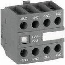Блок контактный дополнительный CA4-31M (3НО+1НЗ) для контакторов  AF09…AF16..-30-10