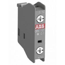 Блок контактный дополнительный CA5X-10 (1НО) фронтальный для контакторов AX09…AX80