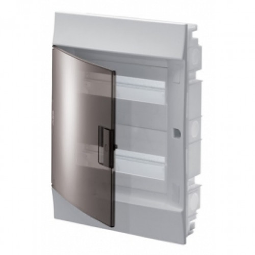 Бокс в нишу Mistral41 24М прозрачная дверь (c клемм) 1SLM004101A2205