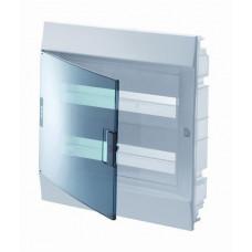 Бокс в нишу Mistral41 36М прозрачная дверь 2 ряда (c клемм)