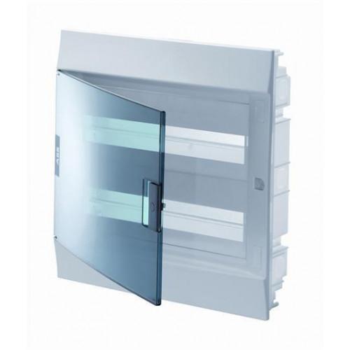 Бокс в нишу Mistral41 36М прозрачная дверь 2 ряда (c клемм) 1SLM004101A2206