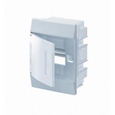 Бокс в нишу Mistral41 4М непрозрачная дверь (c клемм)