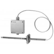Датчик скорости воздушного тока канальный, DC 0…10 V, 0…5 м/с, 0…10 м/с, 0…15 м/с