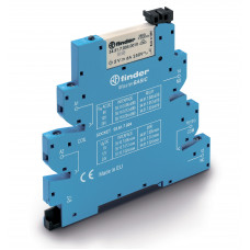 Интерфейсный модуль, электромеханическое реле, серия MasterBASIC; 1CO 6A; питание 230-24В AC;