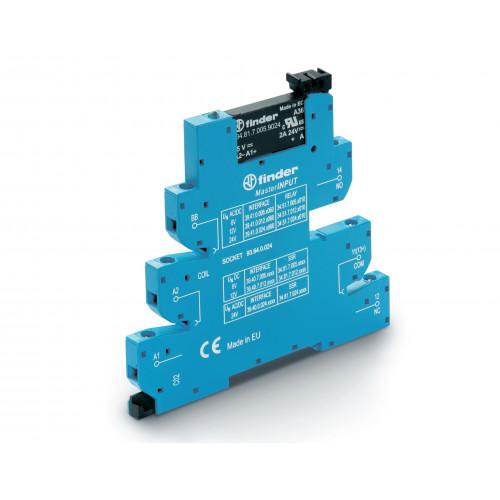 Интерфейсный модуль, твердотельное реле, серия MasterINPUT; выход 2A (24В DC); питание 6В DC; 394070069024