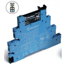 Интерфейсный модуль, твердотельное реле; выход 0,1A (48В DC); питание 230-240В АС/DC; подавление утечки тока;