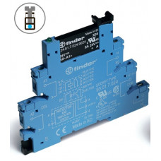Интерфейсный модуль, твердотельное реле; выход 2A (240В АC); питание 230-240В АС/DC;