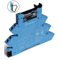 Интерфейсный модуль, твердотельное реле; выход 2A (24В DC); питание 230-240В AC/DC;  безвинтовые клеммы (пружинный зажим)