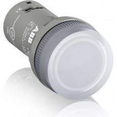 Кнопка CP1-30W-10 белая без фиксации 1HO