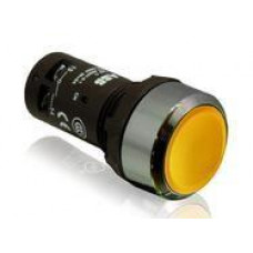 Кнопка CP1-30Y-20 желтая без фиксации 2HO