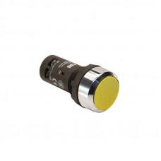 Кнопка CP2-30Y-11 желтая с фиксацией 1НО+1HЗ
