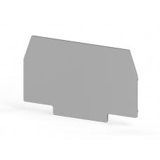 Концевой сегмент на измер. клеммники WGO1,-2/ WGL, (серый); NPP-WGO1-2