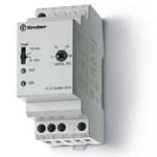 Контрольное реле для 1-фазных сетей; пониженное/повышенное напряжение; настраиваемые симметричные диапазоны; выход 1CO 10А;