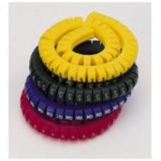 """Маркировка кабеля (кольцо) KG1  (0,75...4 мм.кв.), """"6""""  (уп. 100 шт.)"""