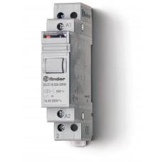 Модульное электромеханическое шаговое реле; 1NO 16А, 2 состояния;  питание 12В АC;