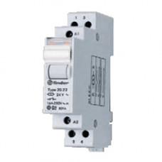 Модульное электромеханическое шаговое реле; 1NO 16А, 2 состояния;  питание 230В АC;