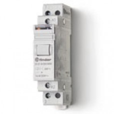 Модульное электромеханическое шаговое реле; 1NO 16А, 2 состояния;  питание 24В АC;