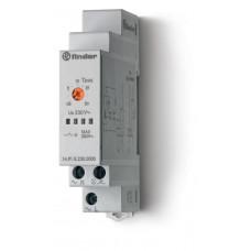 Модульный электронный лестничный таймер 1-функциональный; 1NO 16A; 3-проводная схема; питание 230В АC;