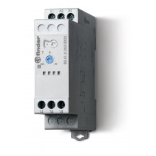 Модульный таймер 1-функциональный (BE); питание 24…240В АС/DC; 1CO 16A; регулировка времени 0.05с…10дней;