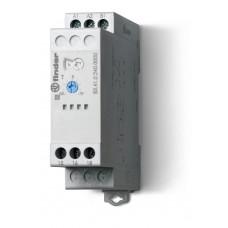 Модульный таймер 1-функциональный (SD); питание 24…240В АС/DC; 2NO 16A; регулировка времени 0.05с…10дней;
