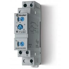 Модульный таймер 1-функциональный (SD); питание 24…240В АС/DC; 2NO 6A;регулировка времени 0.1с…20мин;