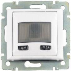 Не поставляется!! Выключатель Legrand Valena с датчиком движения с нейтралью (белый)    770089