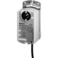 Привод воздушной заслонки, поворотный, 5 Nm, 3-поз., AC 24V