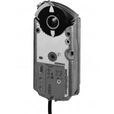 Привод воздушной заслонки, поворотный, 7 Nm, пружинный возврат, DС 0…10V, настраиваемый,  AC/DC 24