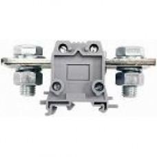 Силовой клеммник на DIN-рейку 150 мм.кв., болт., (серый); AVK150 B
