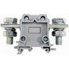 Силовой клеммник на DIN-рейку 95 мм.кв., болт., (серый); AVK95 B