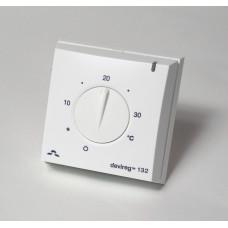 Терморегулятор Devireg D132, IP30, открытого монтажа (с датчиком пола и воздуха) 140F1011