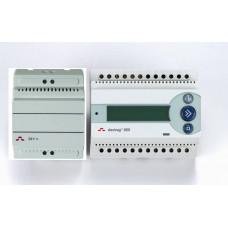 Терморегулятор Devireg D850 с источником питания 24В, от -10 до +40, уст. на DIN-рейку 140F1084