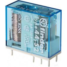 Миниатюрное универсальное электромеханическое реле;  2СO 6A;  катушка 24В DC;