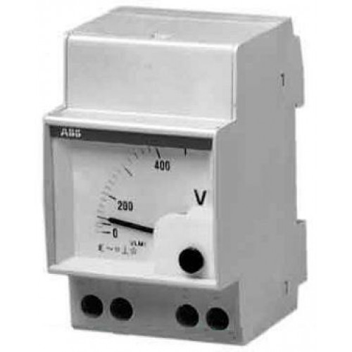 Вольтметр перем.тока прям.вкл. VLM-1-400/96 2CSG113210R4001